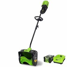 Greenworks 2600602 Pro 80V Cordless 12-in Snow Shovel with 2Ah Battery&Charger