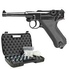Legends P08 Vollmetall Softair-Co2-Pistole Kaliber 6 mm BB NBB > 0,5 Joule (P18)