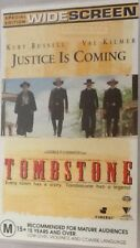 Tombstone Special Edition Widescreen VHS