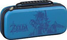 Nintendo Switch Game Traveler Deluxe Travel Case Zelda Breath of the Link Blue™
