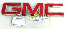 2003-2009 GMC Envoy front Grille red Nameplate Emblem new OEM 88891902
