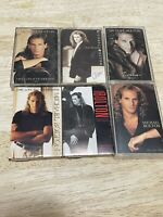 MICHAEL BOLTON - Bundle Lot of 6 Cassette Tapes - Soul Provider - Timeless