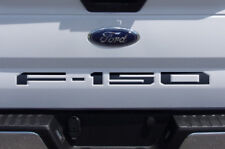 Custom Vinyl Decal Wrap Kit TAILGATE LETTER INSERTS for 18 Ford F150 Truck BLACK
