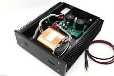 Black 100VA 12V 6A Low Noise R-core DC LPS Linear Power Supply +display L165-26