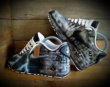 Nike Air Max 90/Pintado Personalizado/Negro-Blanco/Ultra/Essential/id/Force 1/Huarache