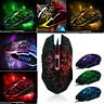 4000DPI Optical Wired Gaming Mouse Professional Colorful Backlight Gamer Mice