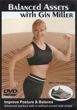 GIN MILLER BALANCED ASSETS DVD IMPROVE BALANCE POSTURE WORKOUT FITNESS EXERCISE