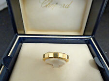 Chopard 18 Karat Yellow Gold Ice Cube Ring Size 6
