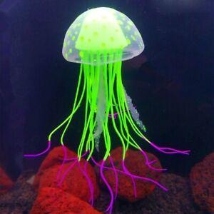 Artificial Jelly Fish Aquarium Decoration Accessories Fish Tank Ornaments Pet