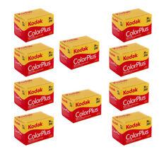 10 Rolls Kodak ColorPlus Color Plus 200 35mm 135-36 Negative Film Fresh 04/2019