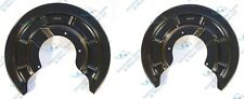 Renault Megane II Scenic II 2x Rear Brake Disc Dust Cover Back Plate Shield Pair
