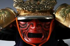 Japanese Massive Samurai Kabuto Helmet -Big Dragon with a mask-