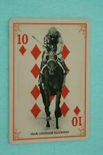 SHAM 2013 GOLDEN AGE PLAYING CARDS #22 RACEHORSE