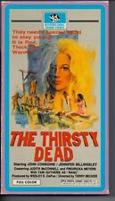 THE THIRSTY DEAD - Death Cult Horrors - Original 1987 VHS