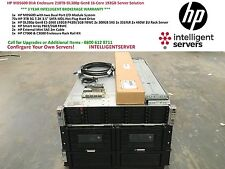 DISCO HP MDS600 recinto 210 TB DL380p Gen8 16-Core 192 GB di soluzione server AJ866A