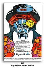 8 - 24x36 POSTERS 1970 PLYMOUTH CUDA ROAD RUNNER GTX RAPID TRANSIT SYSTEM HEMI