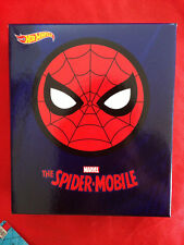 HOT WHEELS SPIDER-MOBILE Spider-Man SDCC 2017 Exclusive MATTEL Real Riders New