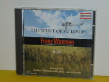 CD - FRANZ WAXMAN - THE SPIRIT OF ST. LOUIS - RUTH - LAWRENCE FOSTER