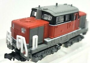 N Bandai B Train Shorty DD51 Diesel Cargo Powered Locomotive (Tested) NIB