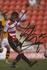 DONCASTER: LIAM WAKEFIELD SIGNED 6x4 ACTION PHOTO+COA