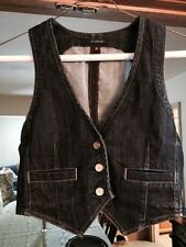 7 For All Mankind Denim Vest Sz. S