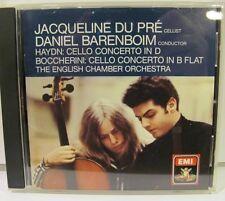 Haydn Boccherini Cello Concertos Du Pre Barenboim EMI USA NM CD