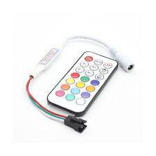 RGBZONE DC5-24V Mini 21 Key RF Remote Controller for WS2811 WS2812B LED Dream...