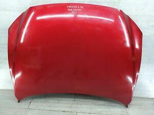 2013-16 MAZDA 6 2.2 SE D GJ MK3 SALOON BONNET & HINGES IN SOUL RED 41V