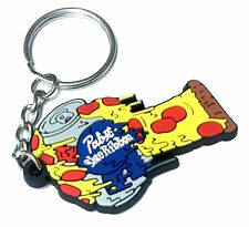 Pabst Blue Ribbon Beer PBR ART Limited Edition Pizza Oven Mitt Keychain Key Mit