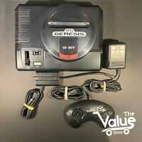 Sega Genesis 16 Bit Console (MK-1601-22) - with Controller and Cables