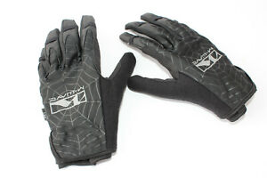 Khe Spider M-WAVE BMX Kids Gloves Dirt-Jump MTB Scooter BLACK SIZE S