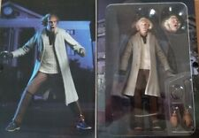 "NECA Back To The Future Doc Brown 7"" Action Figure Ultimate Deluxe Collection"