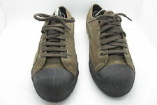 PF Flyers Brown Tartan Lace Up Casual Shoes/Trainers - Size 11.5