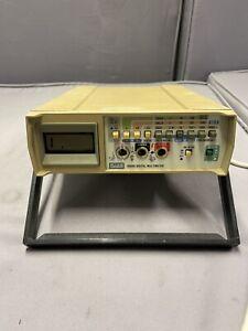 Fluke 8050A Digital Multimeter - Vintage
