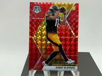 2020 Mosaic CHASE CLAYPOOL Red Mosaic Prizm Rookie RC Pittsburgh Steelers