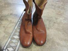 Vtg Frye Shoes,Boots Men Sz 9B Usa 80S-90S 1863 Brown