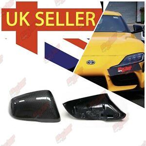 Supra MK5 A90 Carbon Fibre Wing Mirror Cover Replacements 2020+