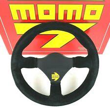 Genuine Momo Model 26 Mod.26 black suede Formula steering wheel 260mm.