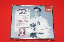 Serge Prokofiev Complete Violin Works Audio CD Brand New Sealed