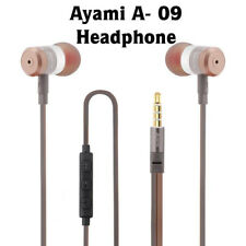 Ayami®  A-09 In-Ear Headphones Earphones earbuds for IOS & Android  flat cable