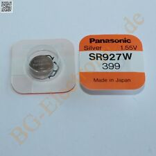 1 x SR927W Silver Oxid Battery Type: 399 Panasonic  1pcs