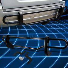 Black Coated Double Pipe Bar Rear Bumper Guard for 2005-2012 Nissan Pathfinder