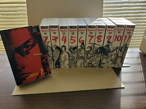 Vagabond VizBig 1-11 US Manga Set Viz Lot 1 Owner English Inoue Rare VG OOP
