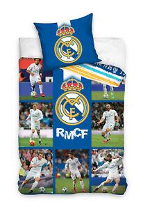 Real Madrid RM172004 Spieler Fußball Bettwäsche Ronaldo RMCF 135/140/160 x 200cm