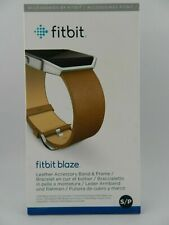 Fitbit Blaze Leather Smart Watch Band Replacement - New in Box