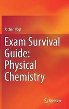 Exam Survival Guide: Physical Chemistry by Jochen Vogt (Hardback, 2017)