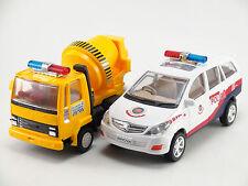 TOYS OF INNOVA CAR ( POLICE CHASE ) & CONCRETE MIXER - CENTY TOYS - KIDSTOYSHUB