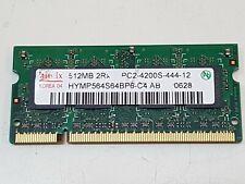 Genuine Used Hynix Laptop DDR2 RAM 512mb pc2-4200s-444-12
