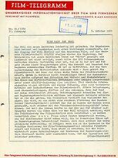 Film-Telegramm Nr. 20 1980 32. Jahrgang Wahl Deutscher Bundestag Film