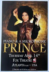 """Prince poster - Final concert April 14, 2016 12""""x18"""""""